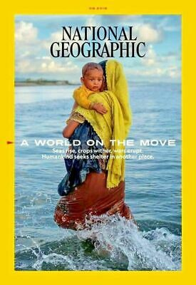 National Geographic Magazine August 2019 Issue - World On the Move