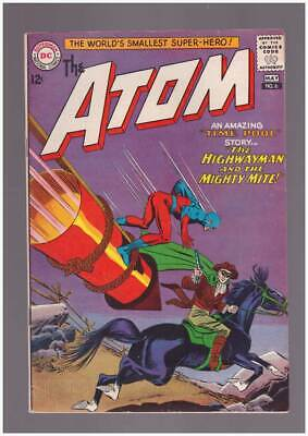 Atom # 6  The Highwayman and the Mighty Mite !  grade 7.5 scarce book !