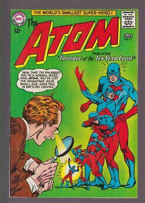 Atom # 11  Trouble at the Ten-Year Club !  grade 6.5 scarce book !
