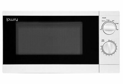 Lowry LMM1725 White 17 Litre Manual Microwave