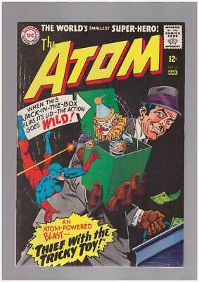 Atom # 23  Thief with the Tricky Toy !  grade 8.5 scarce book !