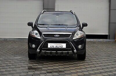 Ford Kuga Stainless Steel Black Axle Nudge A-Bar, Bull Bar City Guard 2008-2012