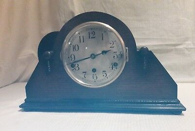 Large Old Westminster / Whittington Mantle Clock E.w.o     W/w2