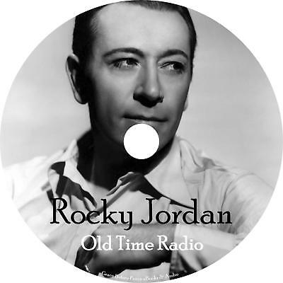 Rocky Jordan Old Time Radio Show OTR 97 Episodes on 1 MP3 DVD Free Shipping