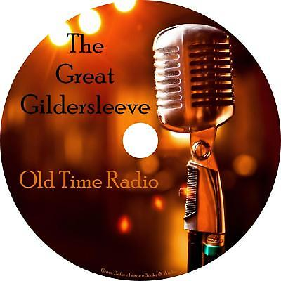 Great Gildersleeve Old Time Radio Shows OTR 553 Episodes on 1 MP3 DVD Free Ship