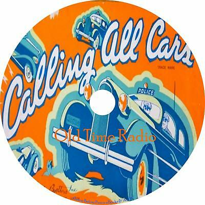Calling All Cars Old Time Radio Show OTR 301 Episodes on 1 MP3 DVD Free Shipping