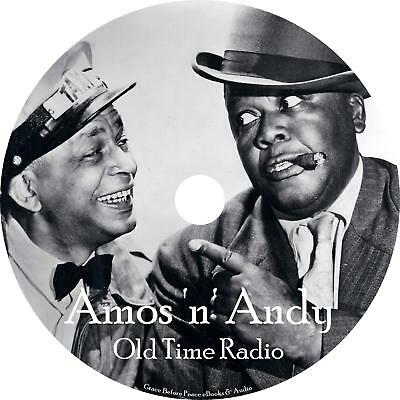 Amos n Andy Old Time Radio Show OTR 332 Episodes on 1 MP3 DVD Free Shipping
