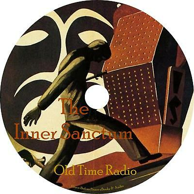 Inner Sanctum Old Time Radio Shows OTR 153 Episodes on 1 MP3 DVD Free Shipping
