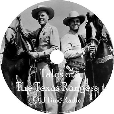 Tales of Texas Rangers Old Time Radio Show OTR 94 Episodes 1 MP3 CD Free Ship
