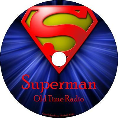 Superman Old Time Radio Shows OTR 1176 Episodes on 1 MP3 DVD Free Shipping