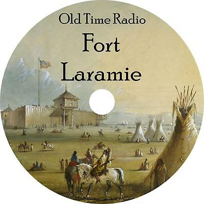 Fort Laramie Old Time Radio Shows OTR 41 Episodes on 1 MP3 DVD Free Shipping