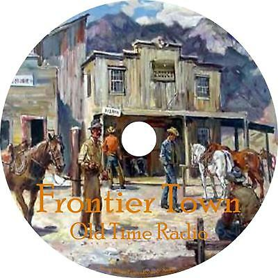 Frontier Town Old Time Radio Show OTR 47 Episodes on 1 MP3 DVD Free Shipping