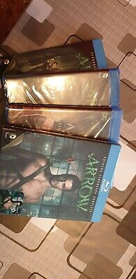 Serie Arrow blu-ray temporada 1-4
