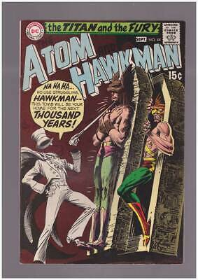 Atom # 44  Hawkman's Tomb for the Next Thousand Years !  grade 9.0 scarce book !
