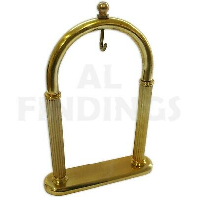 Gold Pocket Watch Stand Arched Holder Hanging Display