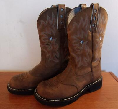 56324b19cd0 ARIAT WOMEN'S PROBABY Western Boots Driftwood Brown Size 8.5 C
