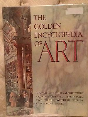 The Golden Encyclopedia Of Art Heavily Illustrated Munro Hardcover