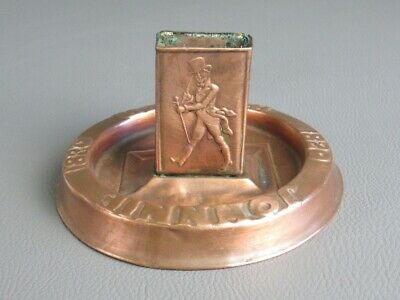 Johnnie Walker Antique Ashtrays Advertising First '900 Very Rare