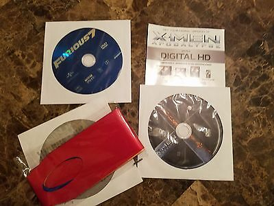 Lot of 3 Movies DVDs+ Ninja Turtles Out of Shadows & Xmen Apocalypse & Furious 7