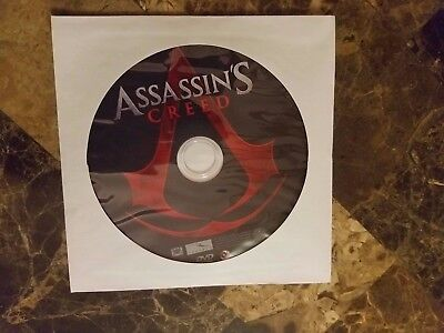 ASSASSINS CREED (DVD, 2017) DVD DISC ONLY (no case, bluray or digital copy)