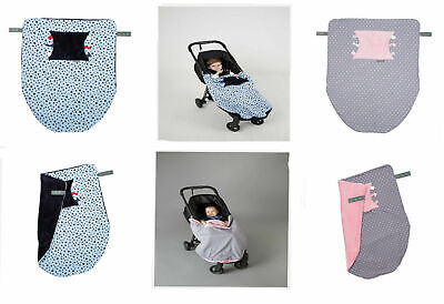 Cheeky Chompers Cheeky Blanket - Soft Fleece Hand  Foot Pouch and Sensory Tag