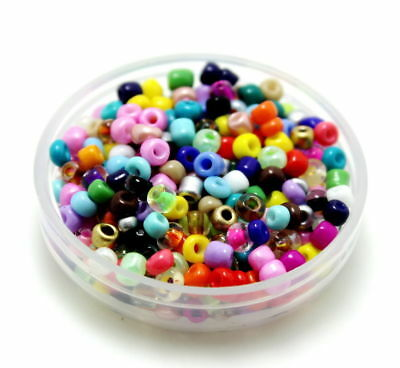 100Pcs 4mm 6/0 Round Czech Glass Seed Spacer Beads Jewelry PLUS 51 TOTAL 55 PKG