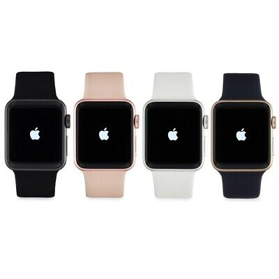 Apple Watch Series 1 38MM 8GB GPS WiFi Gray Silver Gold Aluminum Case Sport Band