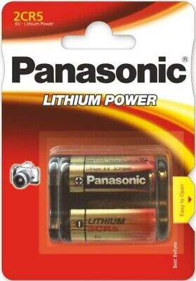 1 Pcs Panasonic 2CR5 DL245 lithium  Power battery EL2CR5 6V