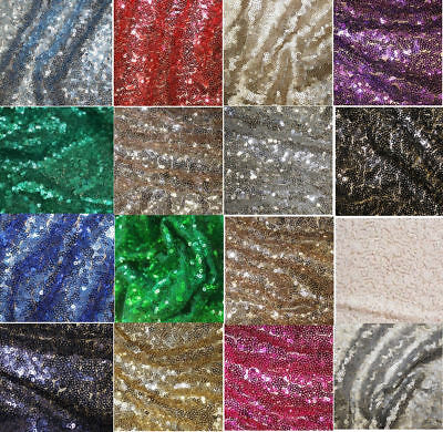 Sequin Fabric Novelty Sparkly Shiny Bling Material Cloth For Decoration,wedding.