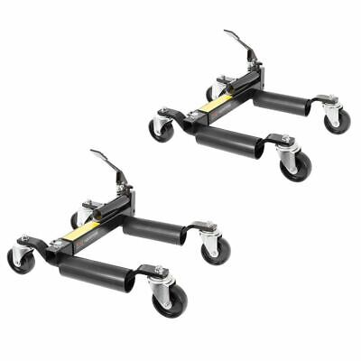 Black Widow BW-CJD-2 Hydraulic Vehicle Jack and Wheel Dollies (Pack oF-2)
