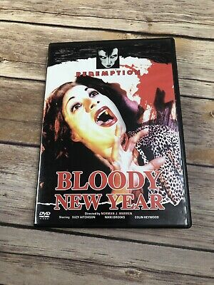 Bloody New Year (DVD 2004) Pre-Owned