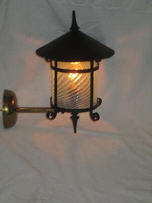 Arts And Crafts Mission  Electric Porch Light Sconce Porch Light Fixture