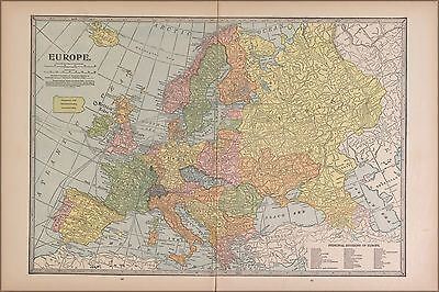 Poster, Many Sizes; Map Of Europe 1927 P2