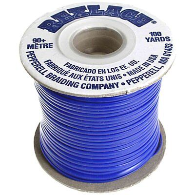 "Plastic Craft Lace 3/32"" X 100 Yds Royal Blue"