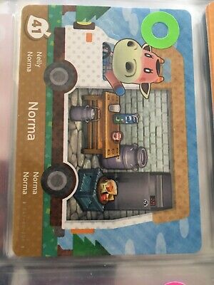 Norma #41 Animal Crossing Welcome amiibo card Series 5