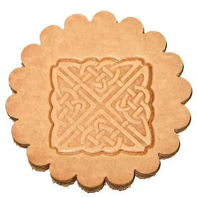 Square Celtic Leathercraft 3-D Stamp 8538-00