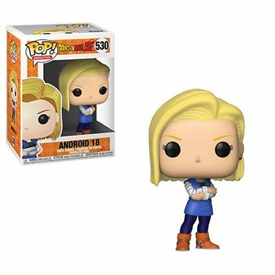 Funko POP! Animation - Dragon Ball Z Anime: Android 18 Figure #530 (IN STOCK)