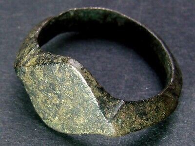 BRONZE OLD RING SCYTHIAN-SARMATIAN 7-3 th CENTURY B.C. RARE