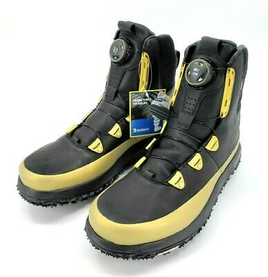 d70358383a4 UNDER ARMOUR FAT Tire Black Gold Govie Boa Gore-Tex Hiking Boots Mens Size  12