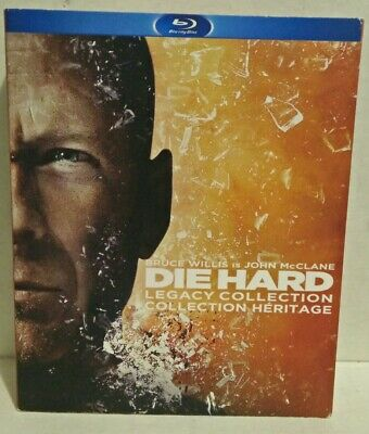 Die Hard Legacy Collection (Blu-ray Disc, 5-Disc Set) ALL 5 movies Bruce Willis