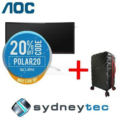 New AOC AGON AG352QCX 35in UWHD 200Hz Curved Gaming Monitor + Travelling Suitcas