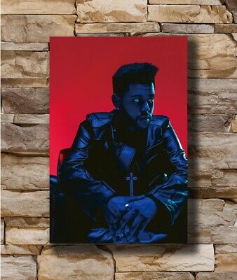 Hot The Weeknd Starboy Creative Singer New Hot New Art Poster 12x18 24x36 T-4895