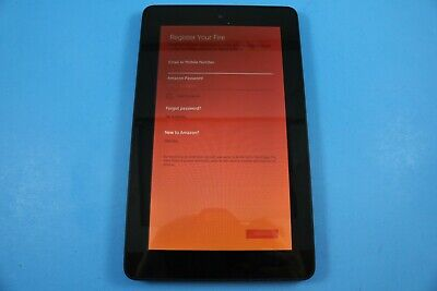 AMAZON KINDLE FIRE 5Th Gen 8Gb Sv98Ln Black