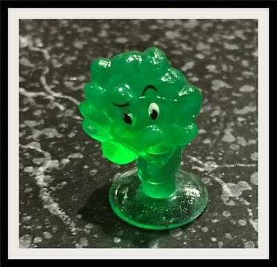 Coles  Stikeez - Coles Mini  Collectible Toy GIft NEW - CRYSTAL BRODIE BROCCOLI
