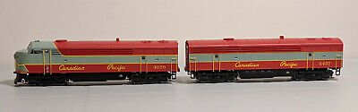 HO True Line Trains C-Liner A / B Set - Canadian Pacific / CP - See Notes