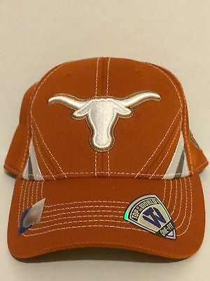 pretty nice f6530 57797 Texas Longhorns Top of the World NCAA Pace Stretch fit hat OSFM Orange