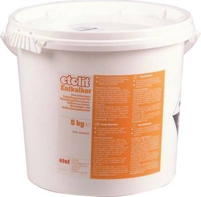 Descaler Etolit for Coffee Dishwashers Pulverförmig 5kg Sulfamic Acid