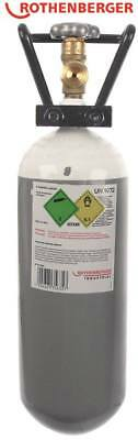 Rothenberger Gas Cylinder for Welding Power Supply Roxy 400 L Oxygen 2.000 Ml