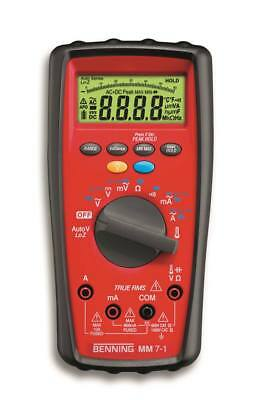 Benning mm 7-1 Multimeter 4-digits Automatic Range and/or Manual Yes / Yes