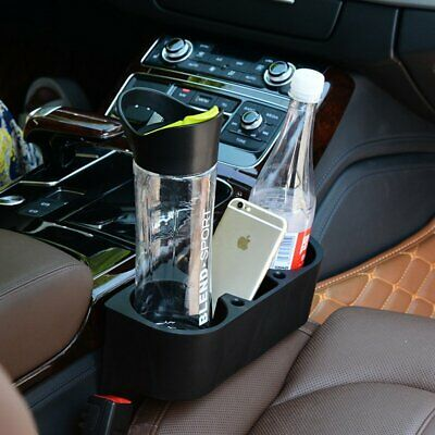 Car Holder Cleanse Seat Drink Cup Valet Travel Coffee Bottle Table Stand Food HU